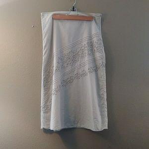 Susan Bristol A-line skirt